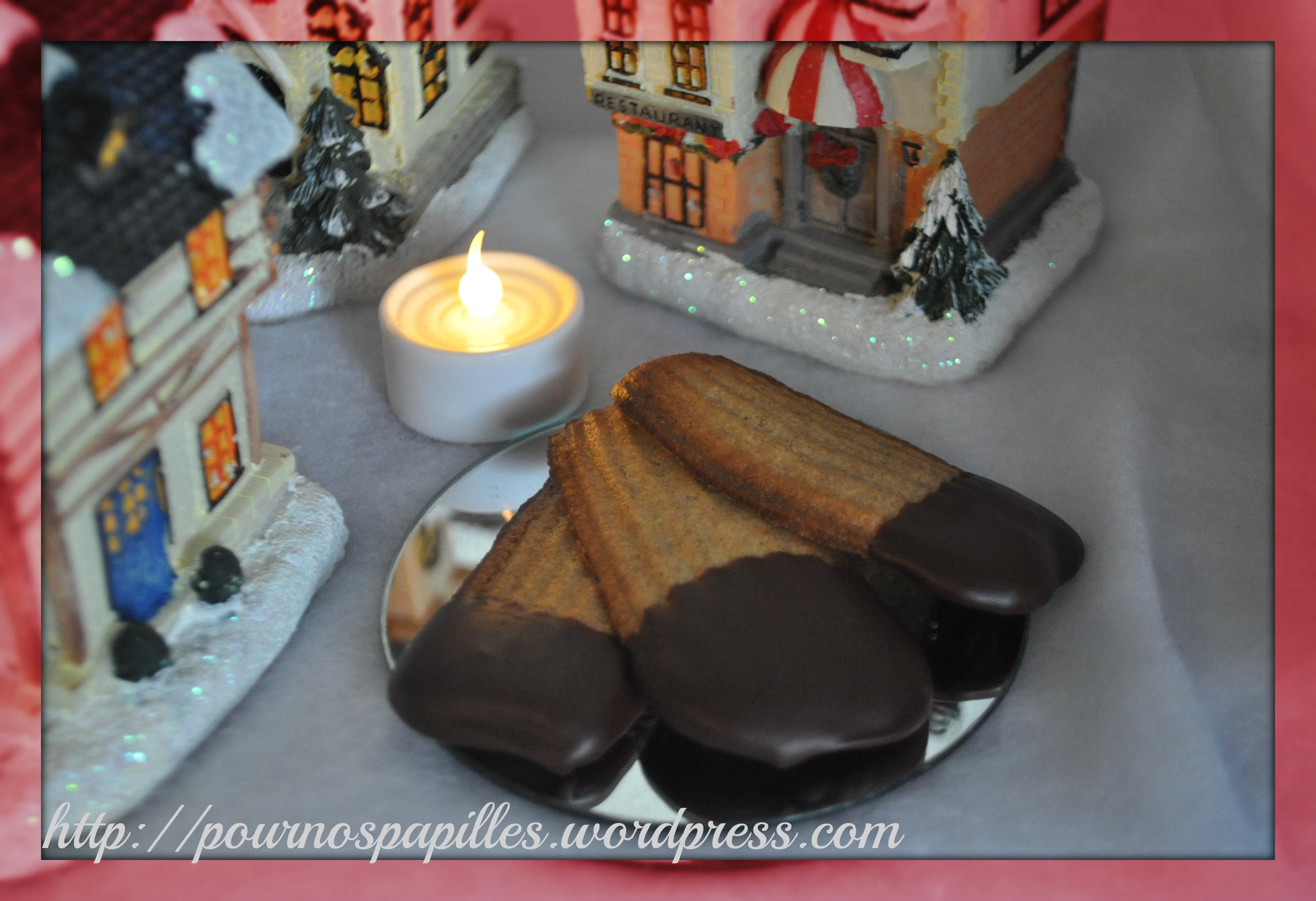 Biscuit noel glacage chocolat
